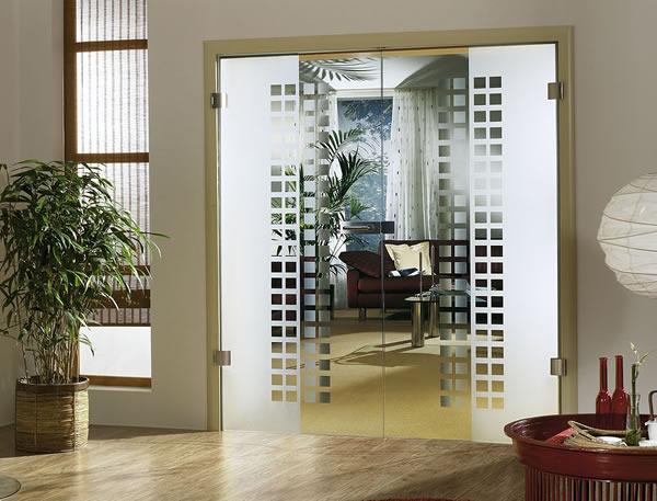 Купить двери стеклянные межкомнатные